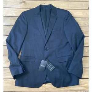 NWT HUGO BOSS Guabello Button Up Suit Jacket 40R